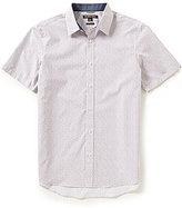 Michael Kors Samson Printed Short-Sleeve Woven Shirt