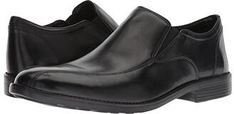 Bostonian Birkett Step (Black Leather) Men's Shoes