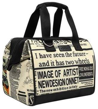 Sachi Insulated Lunch Bag Newspaper