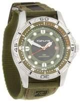Kahuna Olive Canvas Strapped Watch K5v-0003g