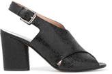 Maison Margiela Snake-effect leather sandals