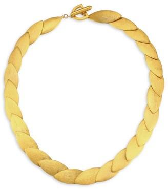 Dean Davidson Taj 22K Goldplated Collar Necklace