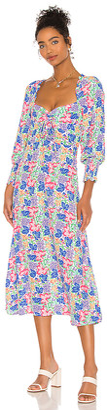 Faithfull The Brand Mathilde Midi Dress
