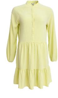 MBYM Yellow Short Marranie Long Sleeve Dress - xsmall