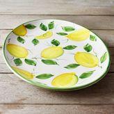 Sur La Table Hand-Painted Lemon Serving Platter