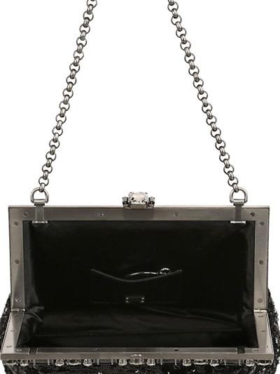 Dolce & Gabbana Vanda Sequined Clutch