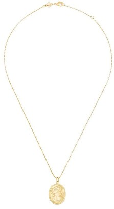 Anni Lu 18k gold-plated Carla necklace