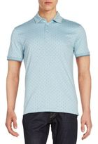 Saks Fifth Avenue Mini Polka Dot Polo Shirt