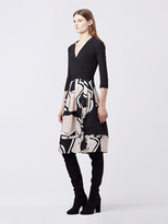 Diane von Furstenberg New Jewel Wrap Dress