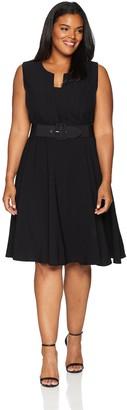 City Chic Women's Apparel Women's Plus Size Dress Vint Veronica
