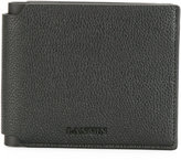 Lanvin grained billfold wallet - men - Calf Leather - One Size