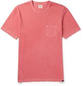 Faherty Slub Cotton-jersey T-shirt - Red