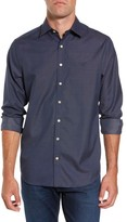 Gant Men's Winter Running Regular Fit Print Sport Shirt