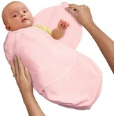 Summer Infant SwaddleMe Fleece Small Pink