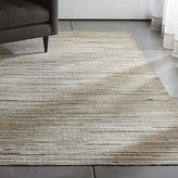 Crate & Barrel Faust Striped Cowhide Rug