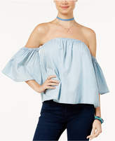 Love, Fire Juniors' Off-The-Shoulder Top