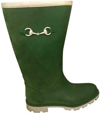 Gucci \N Green Rubber Boots