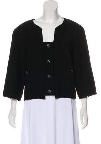 Chanel Wool Cropped Jacket