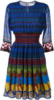 Mary Katrantzou Hemera short dress - women - Silk/Polyester - 10