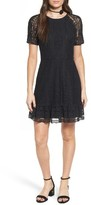 WAYF Women's Fremont Lace Fit & Flare Dress