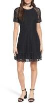 WAYF Women's Fremont Lace Fit & Flare Dress