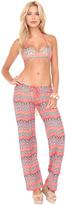 Luli Fama Fuego Divino Beach Pant In Multicolor (L440839)