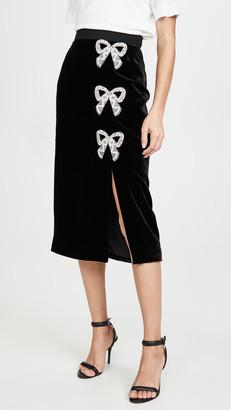 Saloni Kirsten Bows Skirt