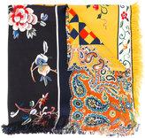 Pierre Louis Mascia Pierre-Louis Mascia - floral print scarf - women - Silk - One Size