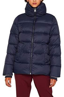 Esprit Women's 099ee1g042 Jacket, Black 001, Large