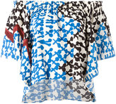 Tsumori Chisato off-shoulders shift blouse