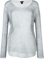 Avant Toi embellished sweater - women - Linen/Flax - S