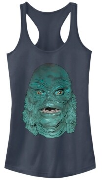 Fifth Sun Universal Monsters Women's Creature from The Black Lagoon Big Face Racerback Tank Top