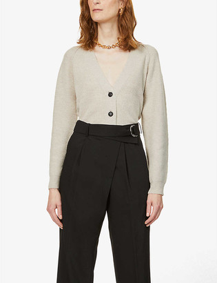 Stella McCartney V-neck wool-blend cardigan