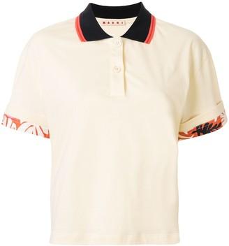 Marni Tropical Details Polo Shirt