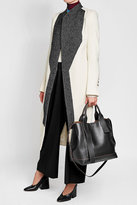 Marni Pannier Leather Tote with Shoulder Strap