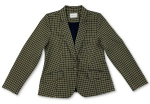 Charter Club Petite Plaid Knit Blazer, Created for Macy's