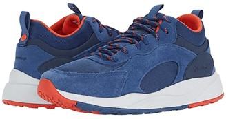 Columbia Pivottm Mid Waterproof (Carbon/Blood Orange) Men's Shoes