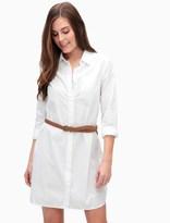 Splendid Crisp Cotton Shirt Dress