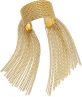 Thalia Sodi Gold-Tone Chain Fringe Cuff Bracelet, Only at Macy's