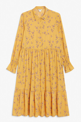 Monki Layered maxi dress