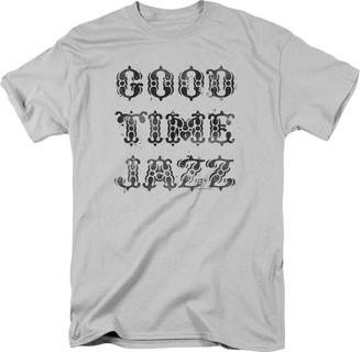 Trevco Men's Good Time Jazz Short Sleeve T-Shirt