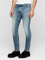 Calvin Klein Jeans Skinny Tapered Mid Blue Vintage Jeans