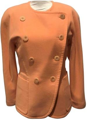 Escada Orange Cashmere Jacket for Women Vintage