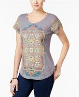 Style&Co. Style & Co Printed Top, Only at Macy's