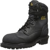 Chippewa Men's 8 Inch Oiled WP Comp Rubber Toe Logger Boot