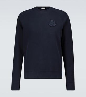 Moncler Tonal logo jersey sweatshirt