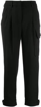 Incotex cropped utility trousers