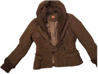 BOSS ORANGE Brown Cotton Jacket for Women