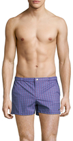 "Parke & Ronen 2"" Angeleno Print Stretch Swim Trunk"