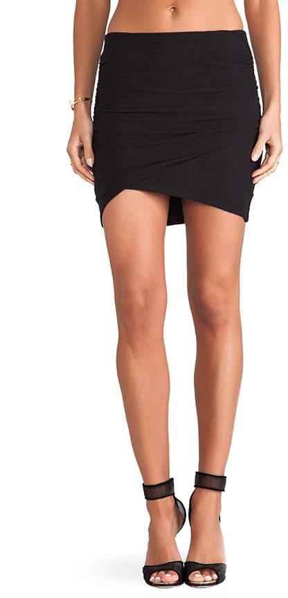 ffe3f95398 Black Mini Skirt With Elastic Waist - ShopStyle